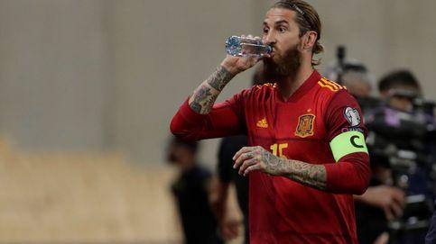 Ramos se vuelve a lesionar: Tras el partido, me quedé entrenando y noté un pinchazo