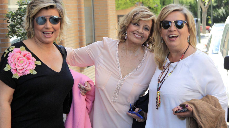 Foto: Terelu, María Teresa Campos y Carmen Borrego en una imagen de archivo (Gtres)