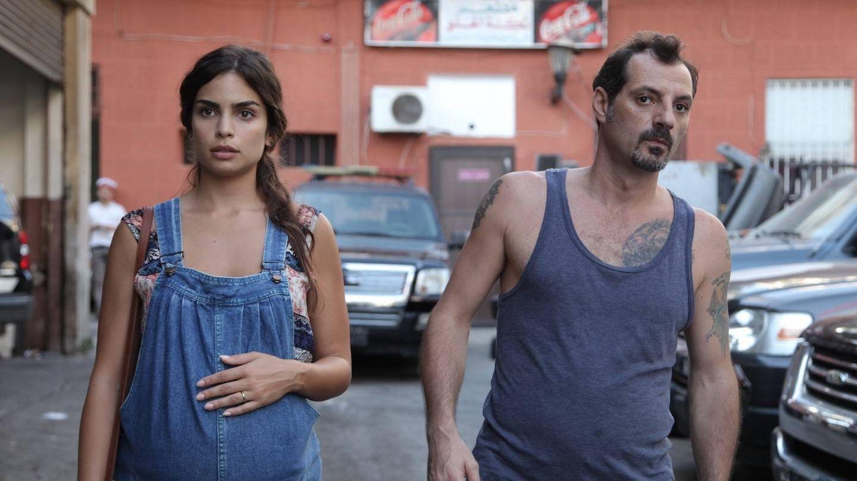 Camille Salameh y Adel Karam, en 'El insulto'. (Sherlock)