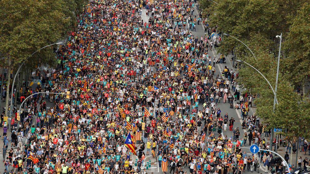 La primera 'columna' llega a Barcelona