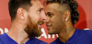 Post de Del veto por 'culpa' del Kun al afecto: la relación de Messi y Neymar en el Barça