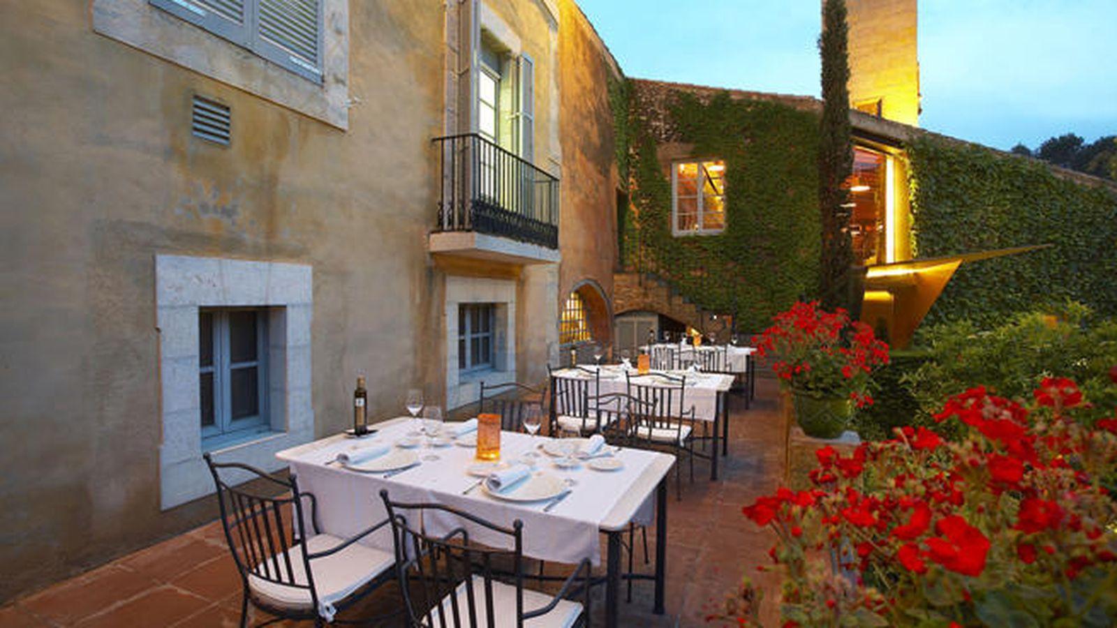 Foto: Este restaurante está en el jardín del hotel La Boella, en Tarragona