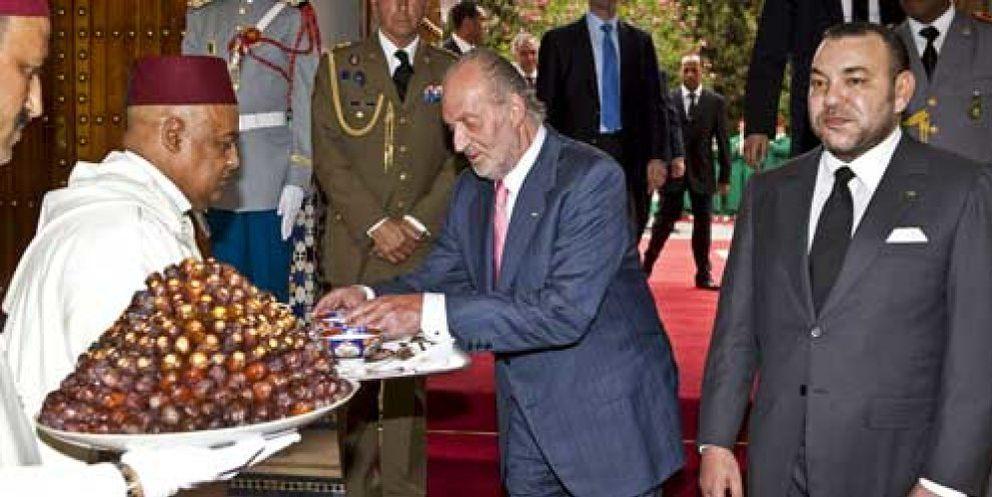 El Rey Juan Carlos se reúne con el monarca marroquí Mohamed VI en Marrakech