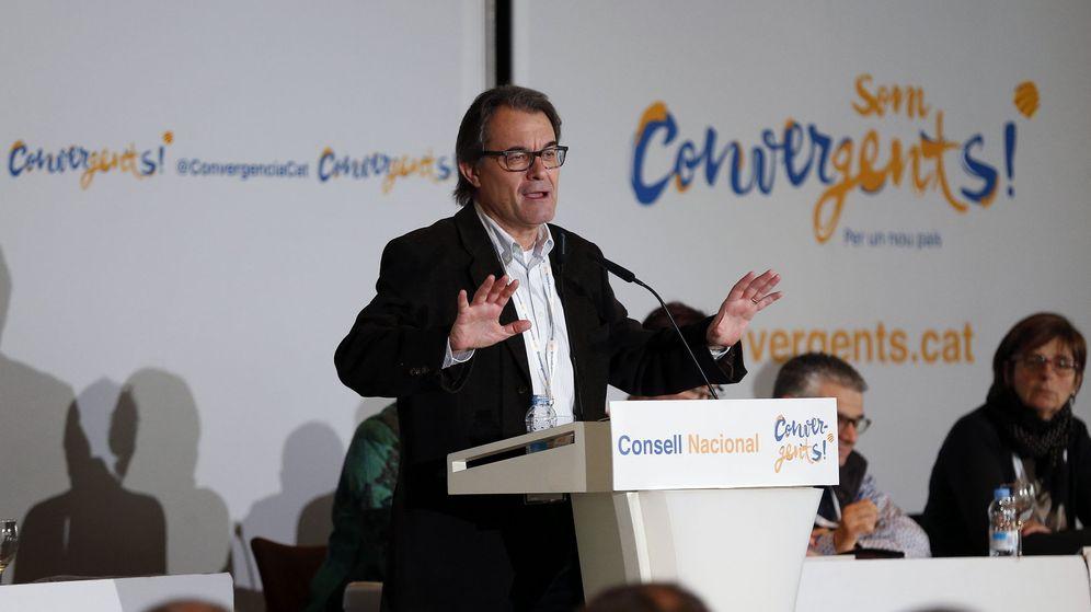 Foto: El expresidente catalán y líder de CDC Artur Mas. (EFE)