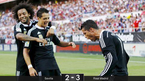 Cristiano Ronaldo salva la vida al Real Madrid con sus tres goles ante el Sevilla