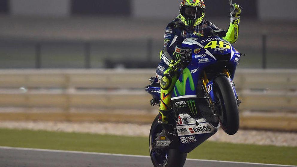 Rossi lidera el 'todos contra Márquez' con un objetivo: la Décima