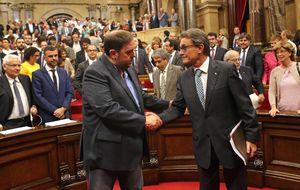 El bloque soberanista reta al Fiscal a querellarse contra el Parlamento