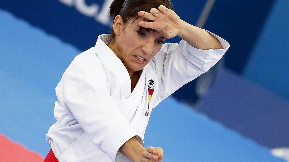 Hace cuatro años era una desconocida, ahora es la mejor karateka de la historia