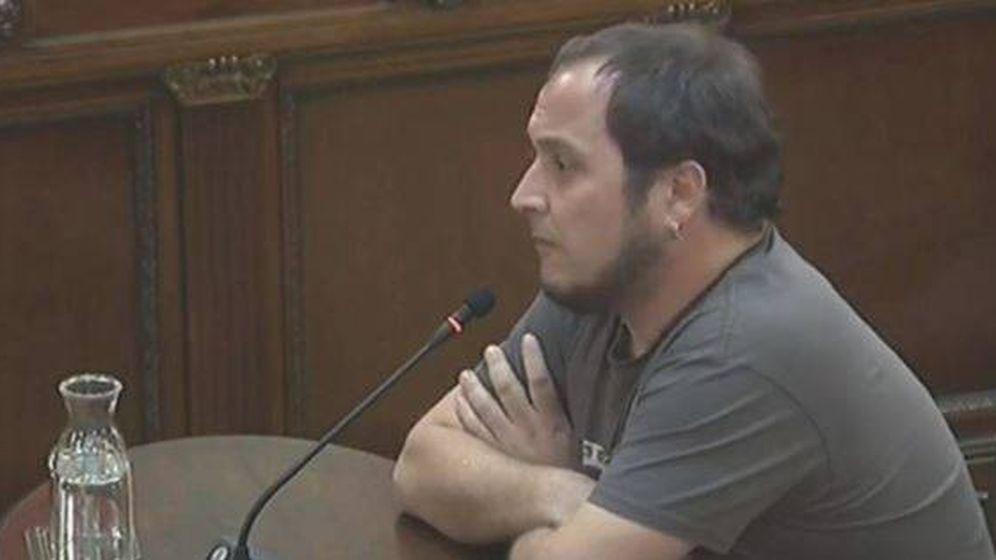 Foto: David Fernández, en el Supremo.