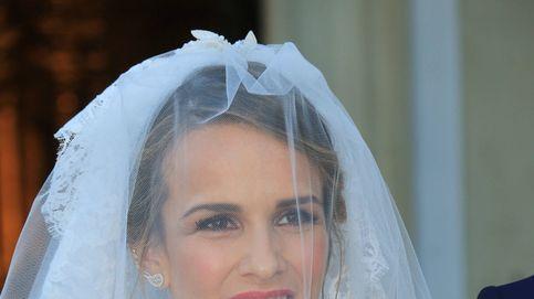 El vestido de novia de Yeyes Manzanares: 220 horas de trabajo y 150 metros de tul de seda