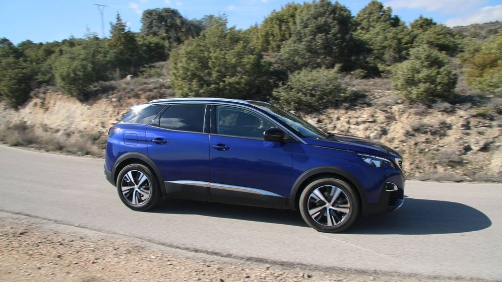 Foto: Completa gama SUV de Peugeot