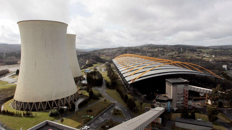 Vista aérea de las instalaciones de la central térmica de Endesa en el municipio coruñés de As Pontes. Foto: EFE