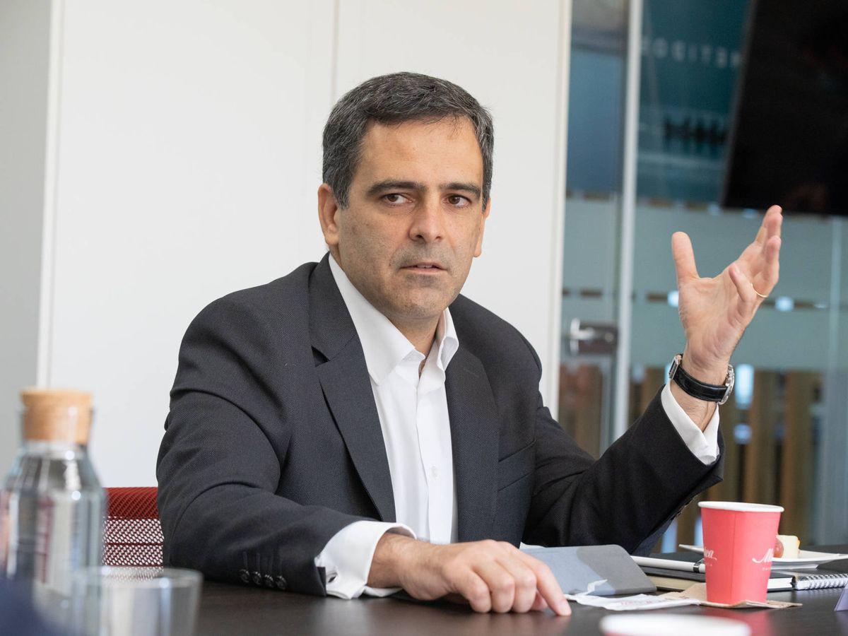 Foto: Javier García del Río, presidente de Sareb.