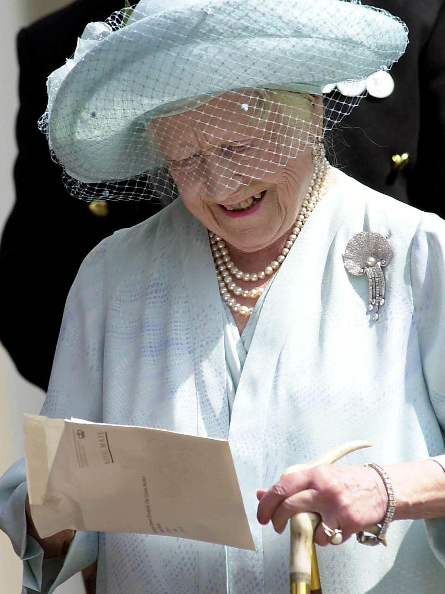 La reina madre, en una imagen de archivo. (Reuters)