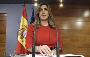 Susana Díaz afronta un último año de mandato en la cuerda floja