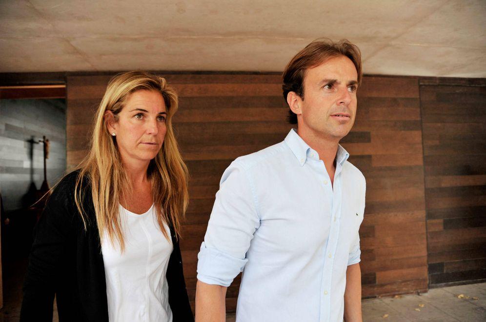 Foto: Arantxa y Santacana, en una foto de archivo. (Gtres)