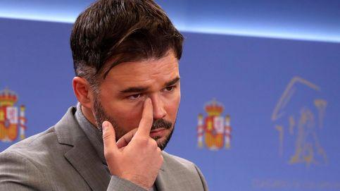 Un positivo en ERC impide a sus diputados y a Gabriel Rufián acudir hoy al Congreso