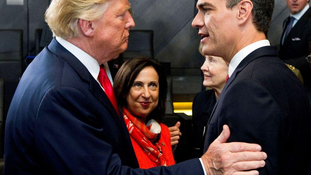 Así ha sido el polémico gesto de Trump con Pedro Sánchez: no es lo que parece, según Moncloa