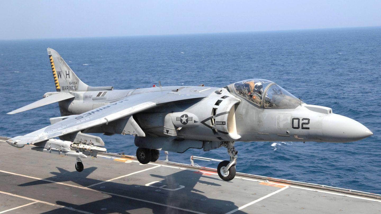 Los Harrier son notablemente problemáticos. (Rick Osiall - Departamento de Defensa)