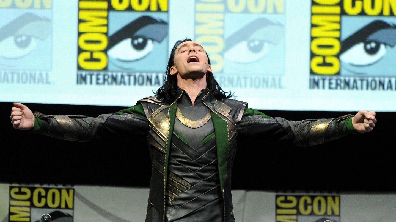 El actor caracterizado de Loki. (Getty)