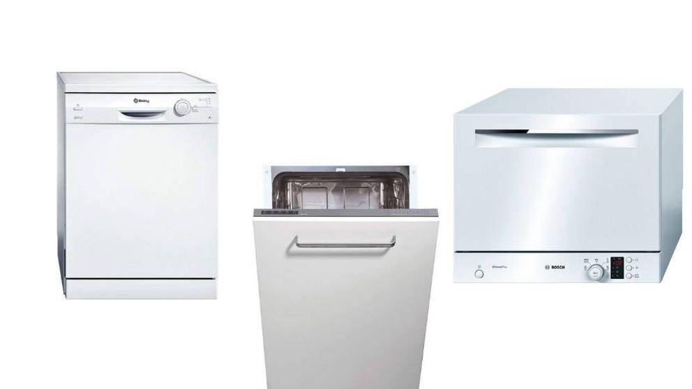 Los lavavajillas de máxima eficiencia energética ideales para no lavar a mano