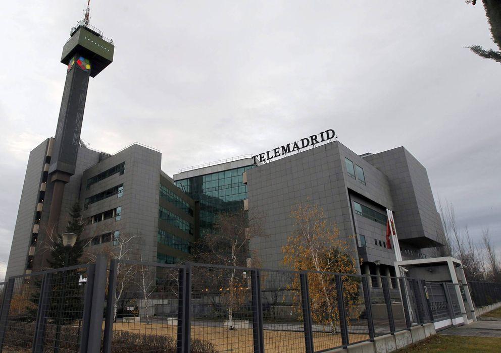 Foto: Vista general de instalaciones de Telemadrid en Pozuelo de Alarcón (Madrid). (EFE)