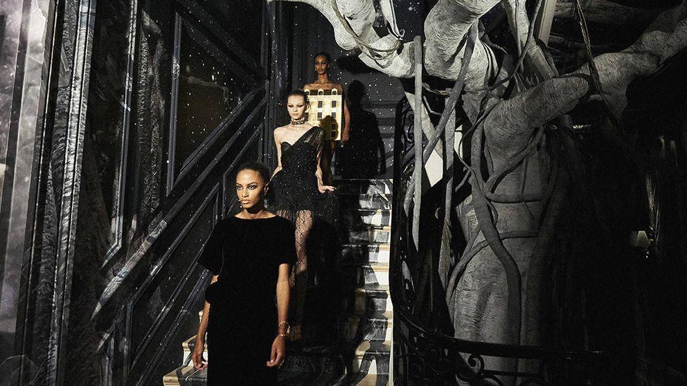 Las invitadas y el desfile de alta costura de Christian Dior
