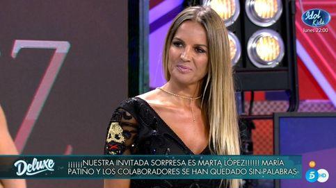 'Sábado Deluxe' | Marta López recupera su silla en Telecinco: Tuve un falso positivo por coronavirus