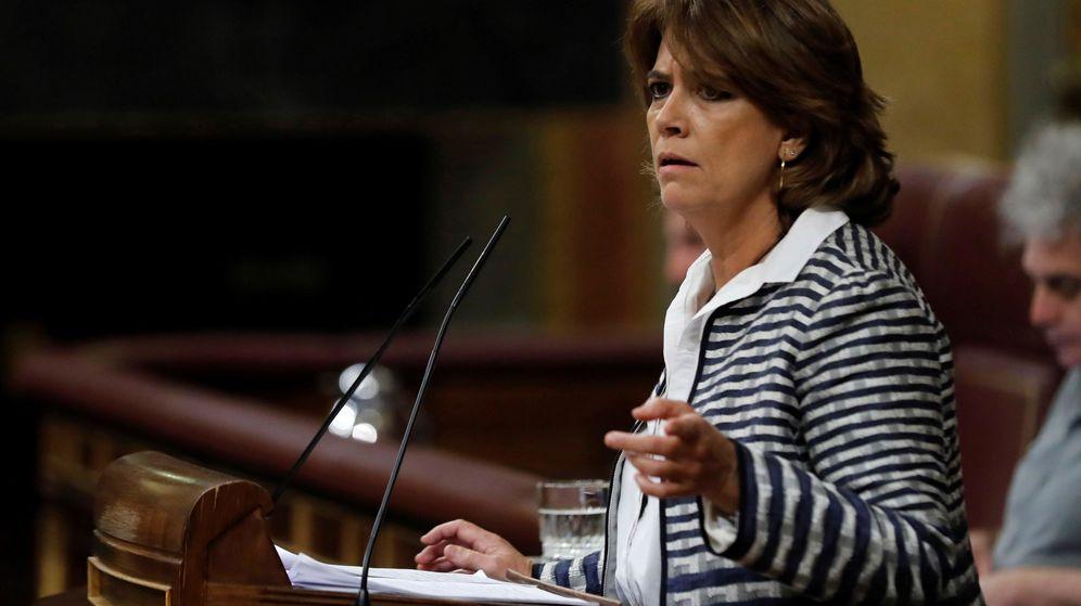 Foto: La ministra, en el Congreso de los Diputados. (EFE)
