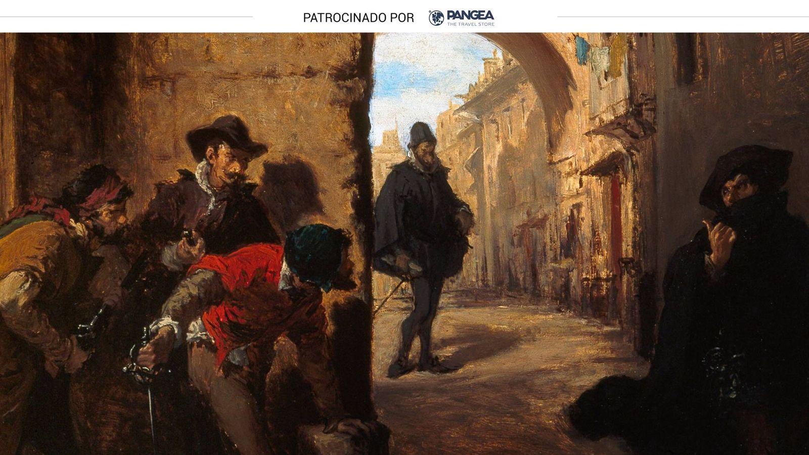 Foto: Óleo 'La muerte de Escobedo', de Lorenzo Vallés