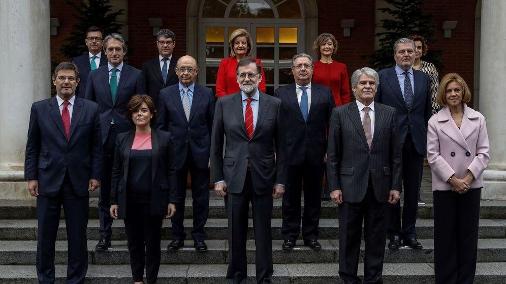 Foto: Seis miembros del último Gobierno de Mariano Rajoy son funcionarios. (EFE)