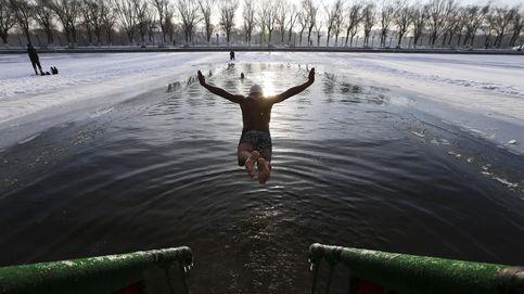 Natación bajo cero en China