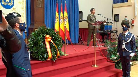 El emocionante homenaje de un militar español a los caídos por el coronavirus