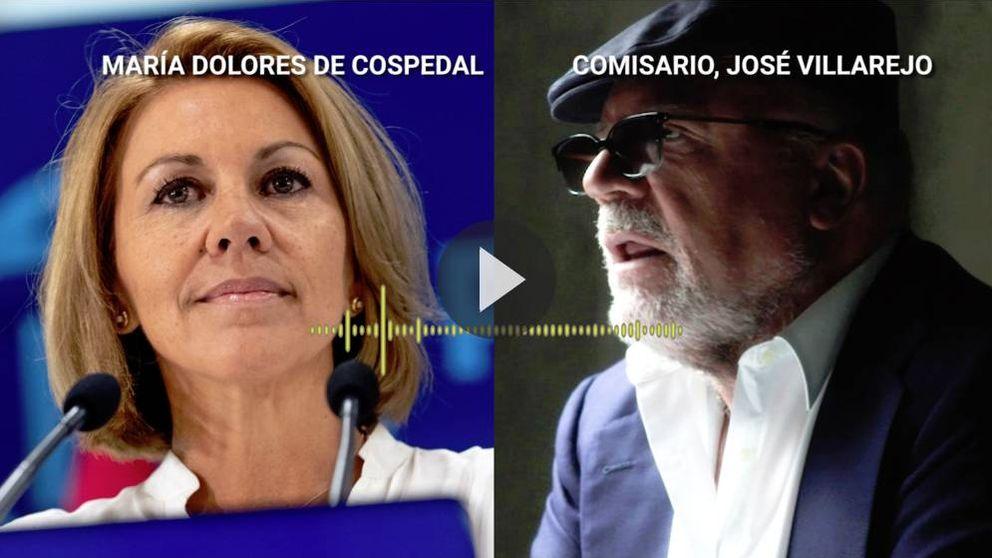 Villarejo a Cospedal: Siempre que gobierna el PSOE me encarga cosas