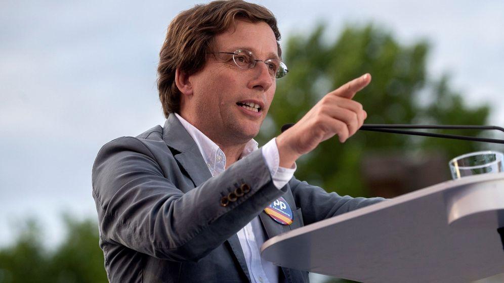 Foto: l candidato del PP al Ayuntamiento, José Luis Martínez-Almeida. (Efe)
