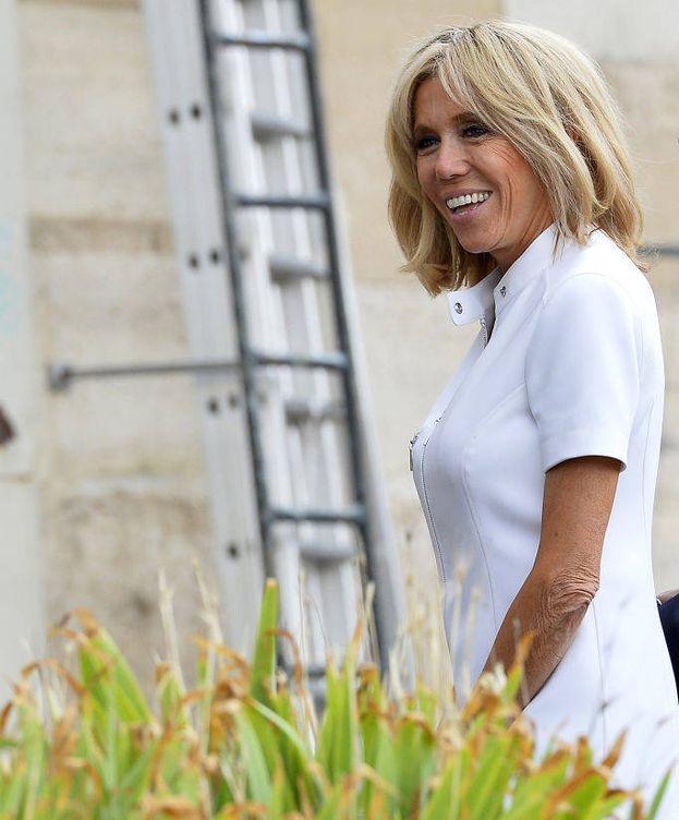 Foto:  Brigitte Macron, en una imagen de archivo. (Getty)
