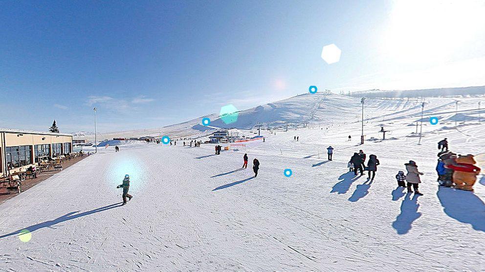 Las estaciones de esquí más raras del mundo: hasta en una zona de guerra