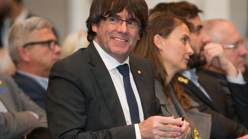 Foto: Puigdemont en un acto celebrado en Bruselas en noviembre. (EFE)