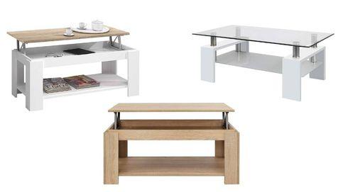 Las mejores mesas de centro para decorar y sacar más partido a tu salón