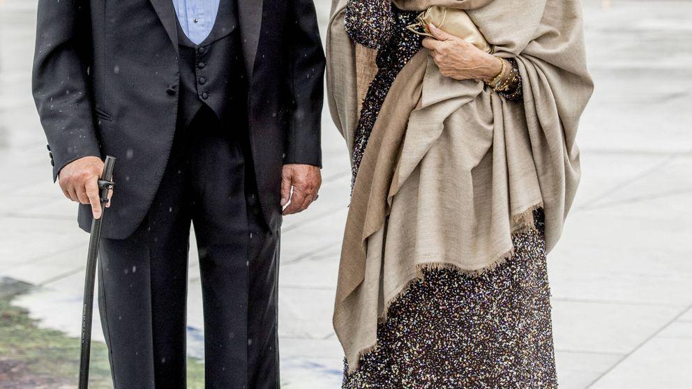 Unos muy bien avenidos Reyes eméritos se codean con sus homólogos en Noruega