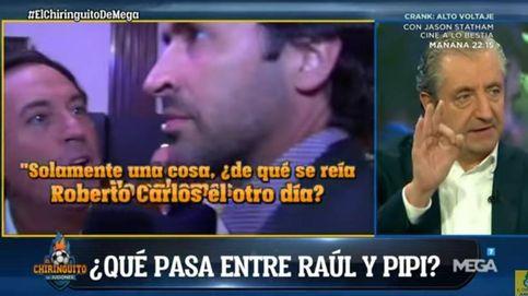 Pedrerol amenaza con contar la verdad sobre Raúl González tras el plantón a Pipi