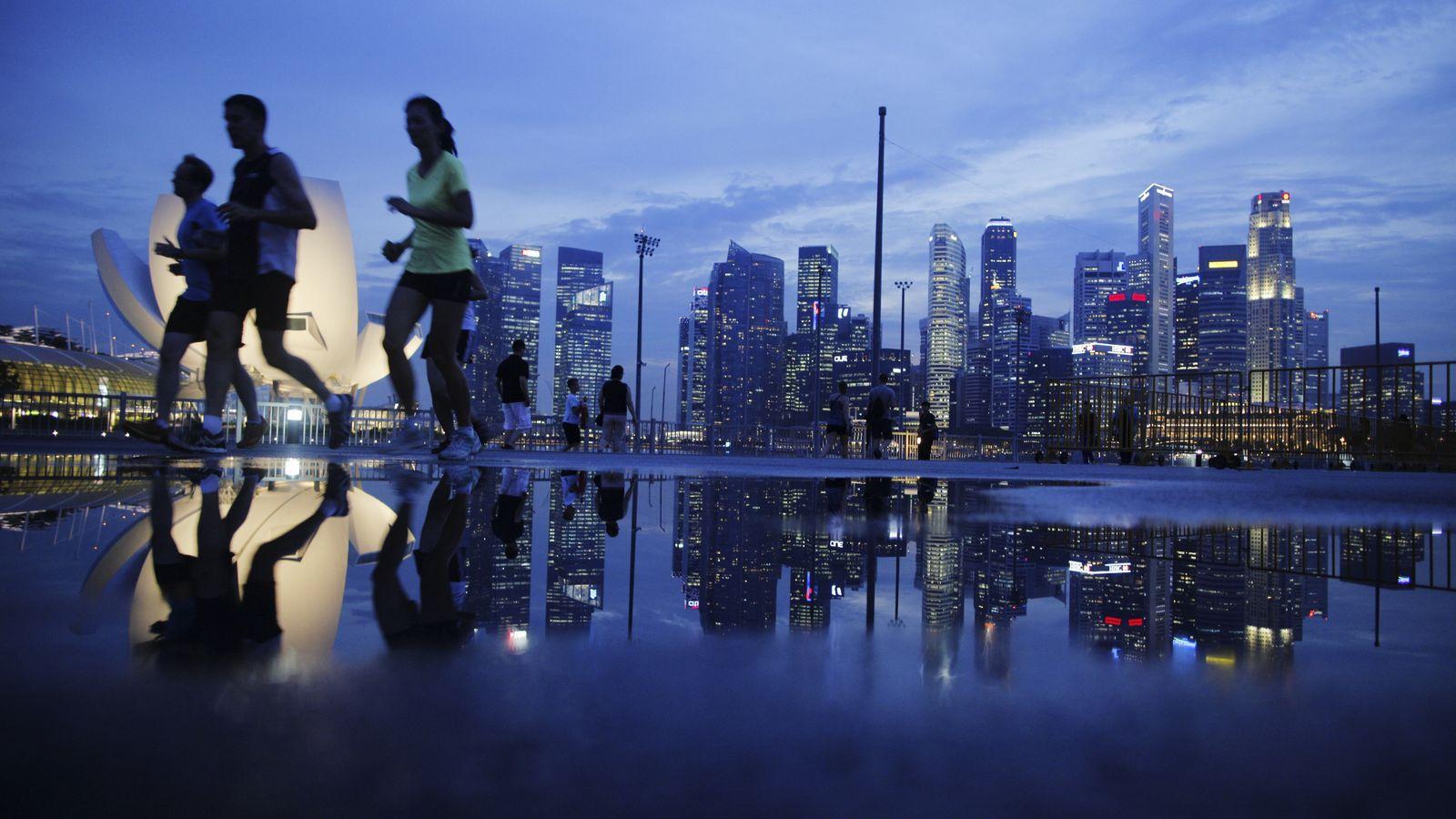 Foto: Distrito financiero de Singapur. (Reuters)