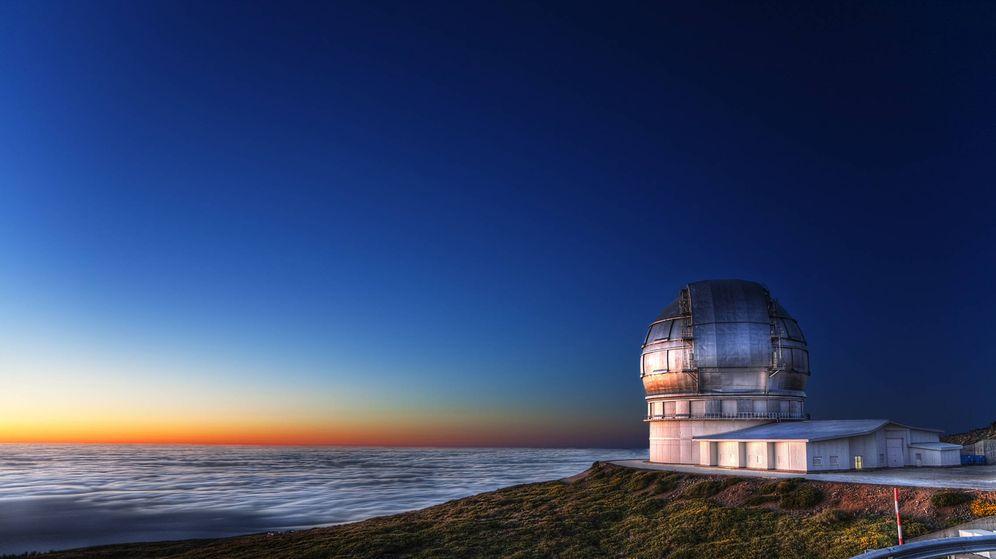 Foto: Imagen del Gran Telescopio de Canarias
