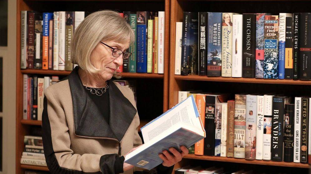 Foto: La profesora de Harvard Claudia Goldin (Fundación BBVA)