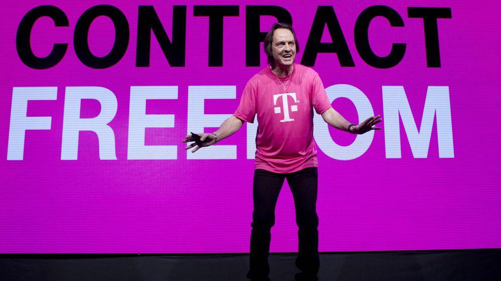 Foto: John Legere, consejero delegado de T-Mobile. (Foto: Reuters)