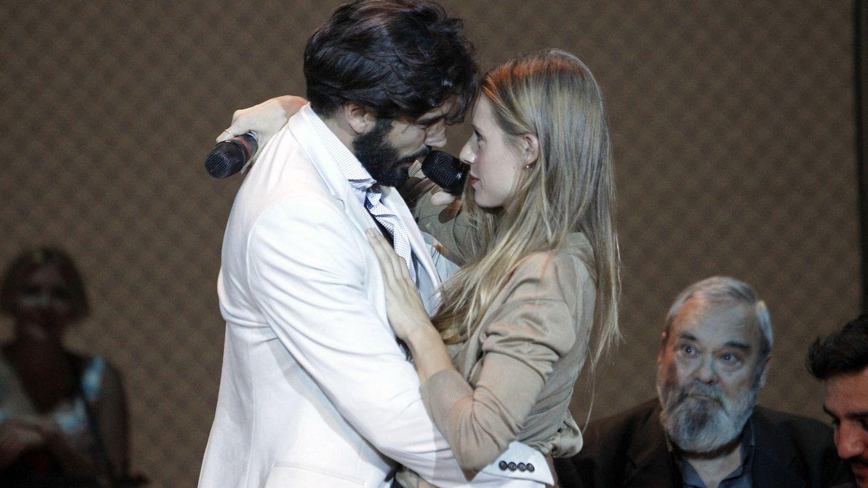 Foto: Los actores, durante la presentación de 'El burlador de Sevilla' el pasado 30 de septiembre (Gtres)