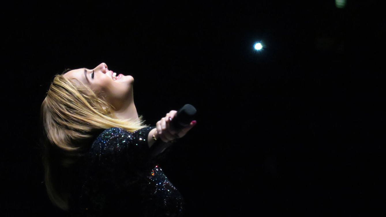 Foto: Adele en una imagen del concierto de México (Gtres)