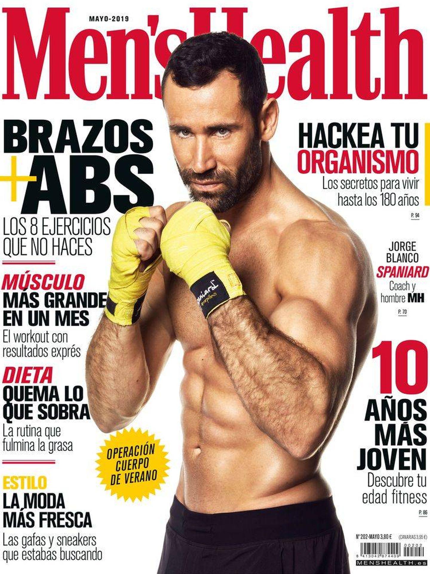 Jorge Blanco, en la portada de 'Men's Health'.