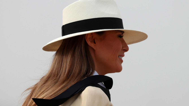 Foto: Las apuestas de Melania son siempre noticia. (Reuters)