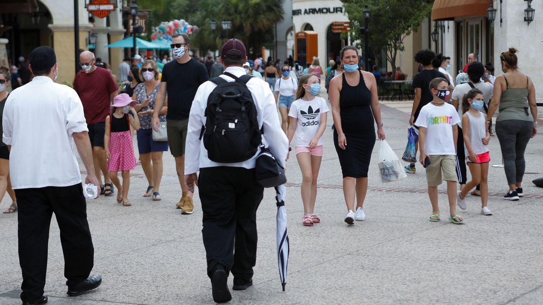El complejo Walt Disney World en Lake Buena Vista, Florida, el pasado sábado. (Reuters)